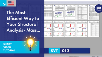 SVT 012 | The Most Efficient Way to Your Structural Analysis - Mass Print!