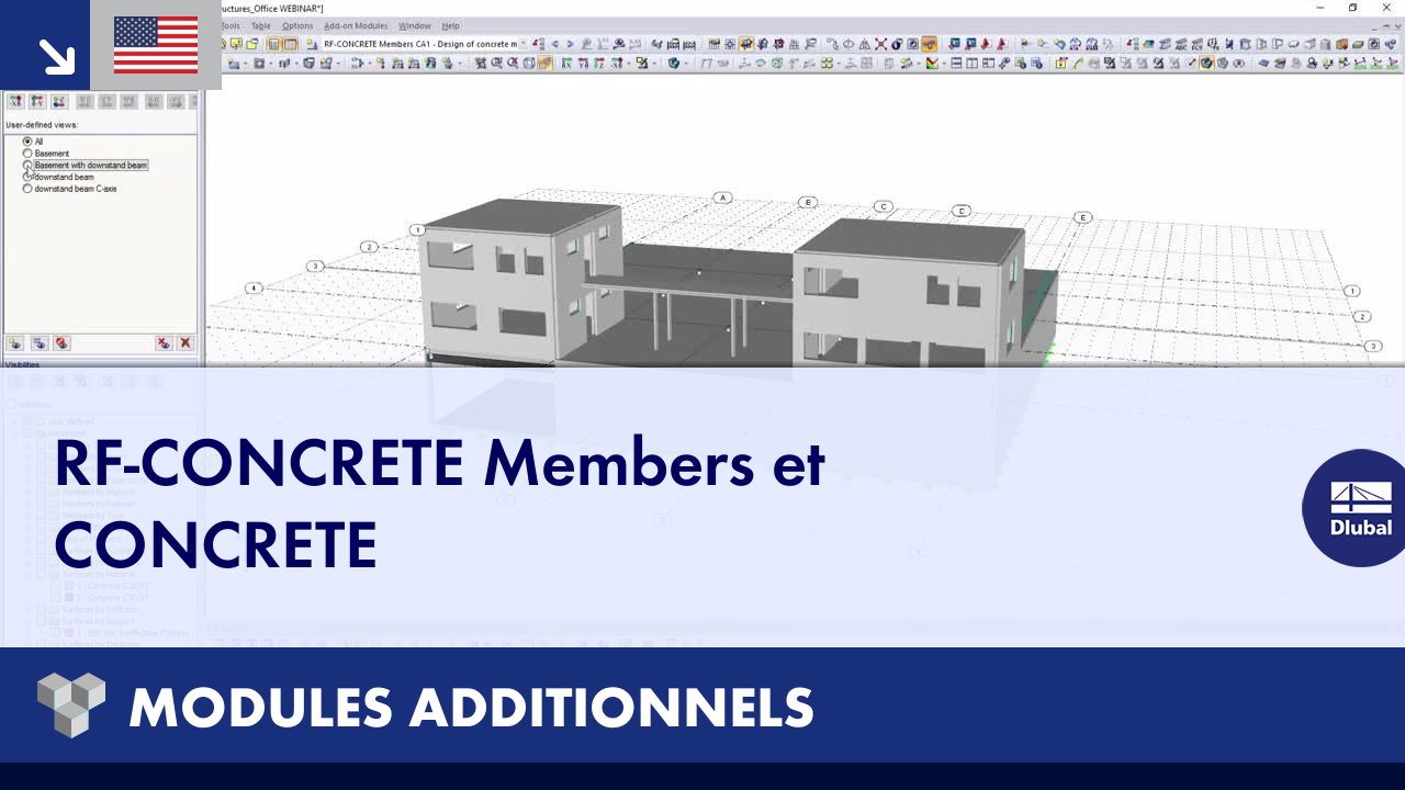 [EN] Dlubal RFEM 5 et RSTAB 8 - Modules additionnels : RF-CONCRETE Members et CONCRETE
