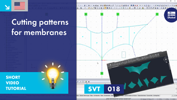 SVT 018 | Cutting Patterns for Membrane Structures with RF-CUTTING-PATTERN