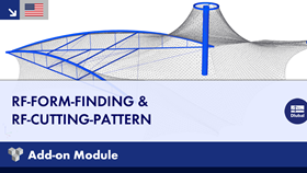 Dlubal RFEM 5 - Add-on Modules: RF-FORM-FINDING & RF-CUTTING-PATTERN