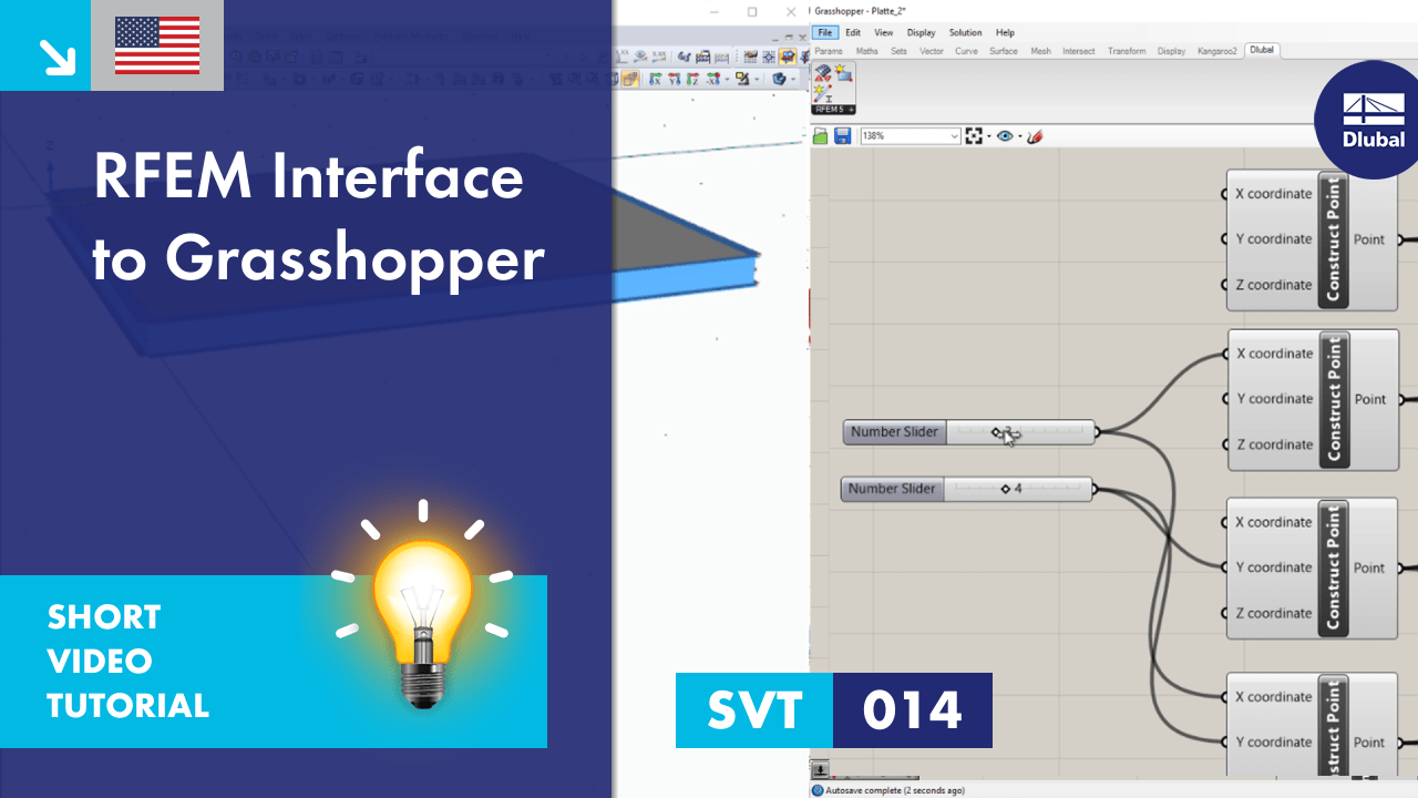SVT 014 | RFEM Interface to Grasshopper