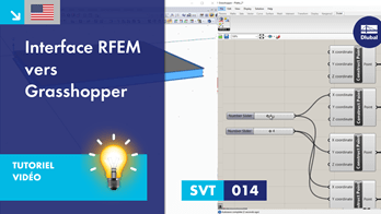 [EN] TV 014 | Interface RFEM vers Grasshopper