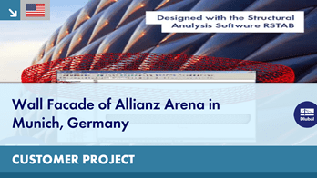 Customer Project: Wall Facade of Allianz Arena in Munich, Germany