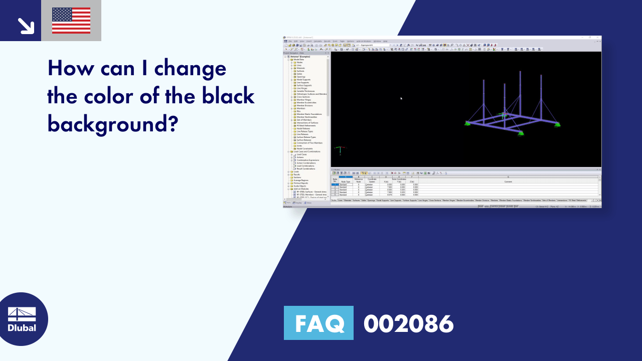 FAQ 002086 | How can I change the color of the black background?