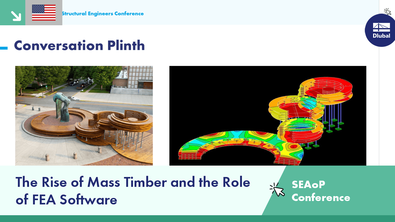 SEAoP 8th Annual Virtual Conference | The Rise of Mass Timber and the Role of FEA Software