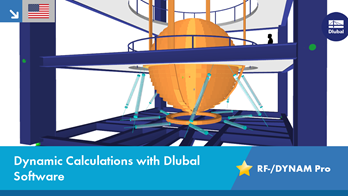 Dynamic Calculations with Dlubal Software