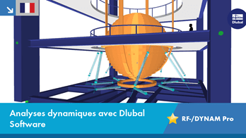 Analyses dynamiques avec Dlubal Software