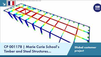 [FR] CP 001178 | Marie Curie School's Timber and Steel Structures Preliminary Design in Fontoy, F...
