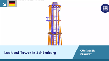 [DE] CP 001189 | Look-out Tower in Schömberg