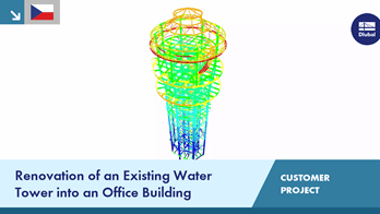 [CS] CP 001194 | Renovation of an Existing Water Tower into an Office Building