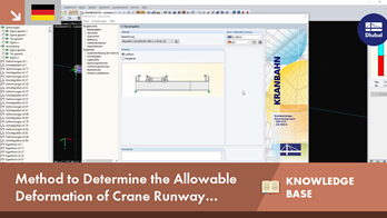 [DE] KB 001612 | Method to Determine the Allowable Deformation of Crane Runway Girders