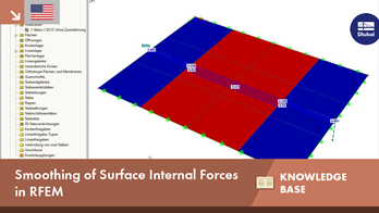 KB 001606 | Smoothing of Surface Internal Forces in RFEM