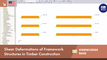 KB 001603 | Shear Deformations of Framework Structures in Timber Construction