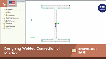 KB 001604 | Designing Welded Connection of I-Section