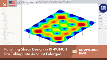 KB 001618 | Punching Shear Design in RF-PUNCH Pro Taking Into Account Enlarged Column Head