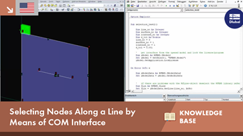 KB 001617 | Selecting Nodes Along a Line by Means of COM Interface