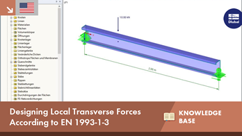 KB 001628 | Designing Local Transverse Forces According to EN 1993-1-3