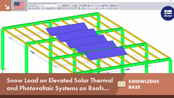 KB 001633 | Snow Load on Elevated Solar Thermal and Photovoltaic Systems on Roofs up to 10° Inclination