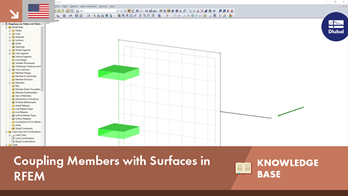 KB 001636 | Coupling Members with Surfaces in RFEM