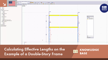 KB 001635 | Calculating Effective Lengths on the Example of a Double-Story Frame