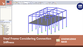 KB 001626 | Steel Frame Considering Connection Stiffness