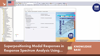 KB 001655 | Superpositioning Modal Responses in Response Spectrum Analysis Using Equivalent Linear Combination