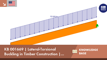 KB 001669 | Lateral-Torsional Buckling in Timber Construction | Examples 2