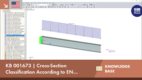 KB 001673 | Cross-Section Classification According to EN 1999-1-1