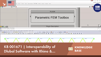 KB 001671 | Interoperability of Dlubal with Rhino & Grasshopper