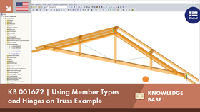 KB 001672 | Using Member Types and Hinges on Truss Example