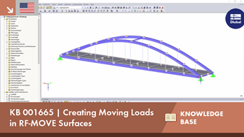 KB 001665 | Creating Moving Loads in RF-MOVE Surfaces