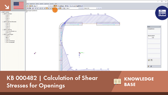 KB 000482 | Calculation of Shear Stresses for Openings