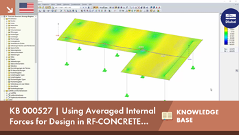 KB 000527 | Using Averaged Internal Forces for Design in RF-CONCRETE Surfaces