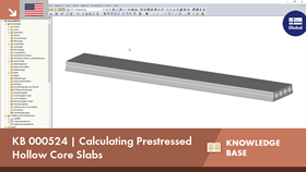 KB 000524 | Calculating Prestressed Hollow Core Slabs