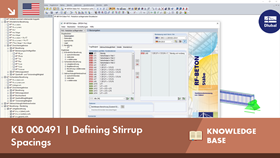 KB 000491 | Defining Stirrup Spacings