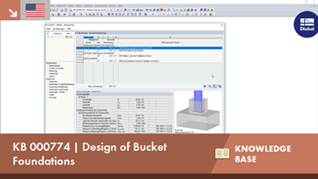 KB 000774 | Design of bucket foundations