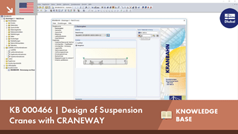 KB 000466 | Design of Suspension Cranes with CRANEWAY