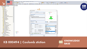 KB 000494 | Coulomb stiction