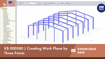 KB 000580 | Creating Work Plane by Three Points