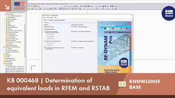 KB 000468 | Determination of equivalent loads in RFEM and RSTAB