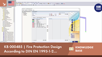 KB 000485 | Fire Protection Design According to DIN EN 1993-1-2 (Eurocode 3)