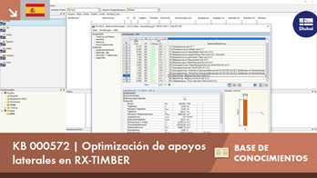KB 000572 | Optimización de apoyos laterales en RX-TIMBER