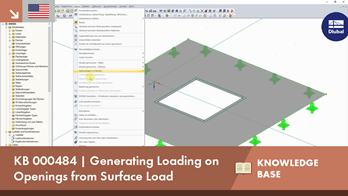 KB 000484 | Generating Loading on Openings from Surface Load