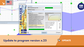 UPD 003 | Update to Program Version x.25