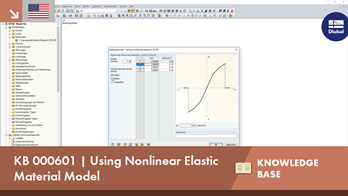 KB 000601 | Using Nonlinear Elastic Material Model