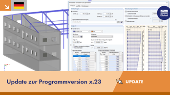 UPD 001 | Update zur Programmversion x.23