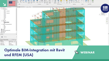 [EN] Dlubal-Webinar: Optimale BIM-Integration mit Revit und RFEM (USA)
