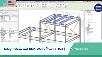 [EN] RFEM-Webinar von Dlubal Teil 3: Integration mit BIM-Workflows (USA)