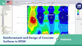 Reinforcement and Design of Concrete Surfaces in RFEM