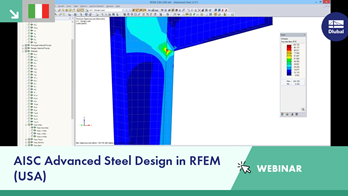 [EN] Webinar Dlubal: AISC Advanced Steel Design in RFEM (USA)